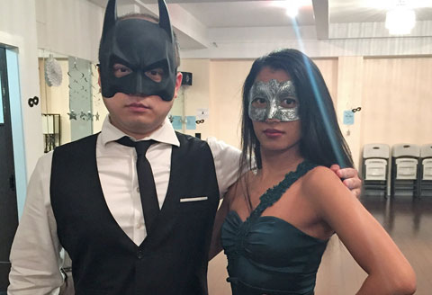 2018 Masquerade Ball - Batman and Poison Ivy