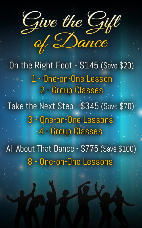 Jersey City Ballroom - Dance Lessons Gift Certificates