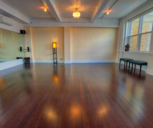 Jersey City Ballroom Dance Studio Interior