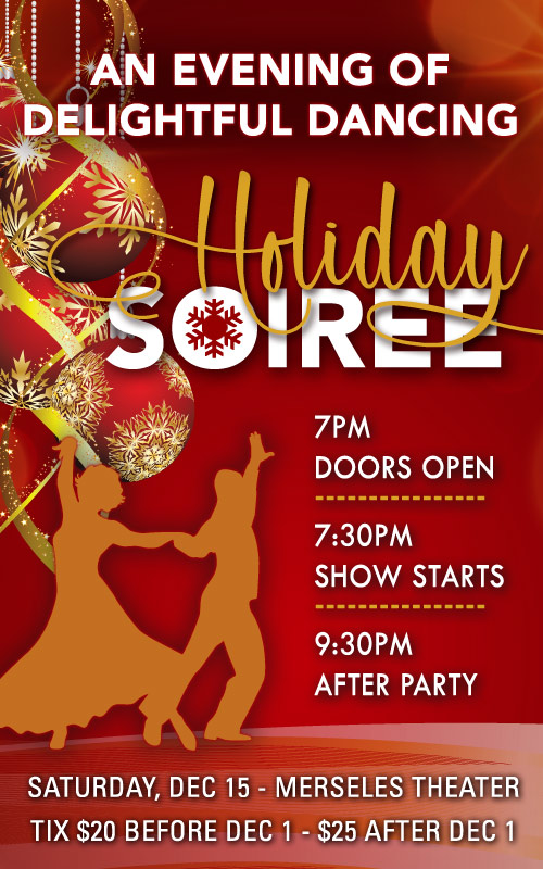 An Evening of Delightful Dancing - Jersey City Ballroom Holiday Soiree