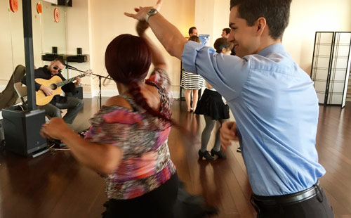 Social Dance and Exercise in Jersey City