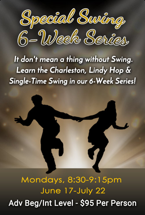 Jersey City Ballroom - 5-Week Swing Series
