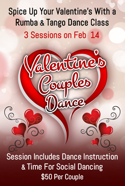 Jersey City Ballroom - Valentines Day Couple Dance